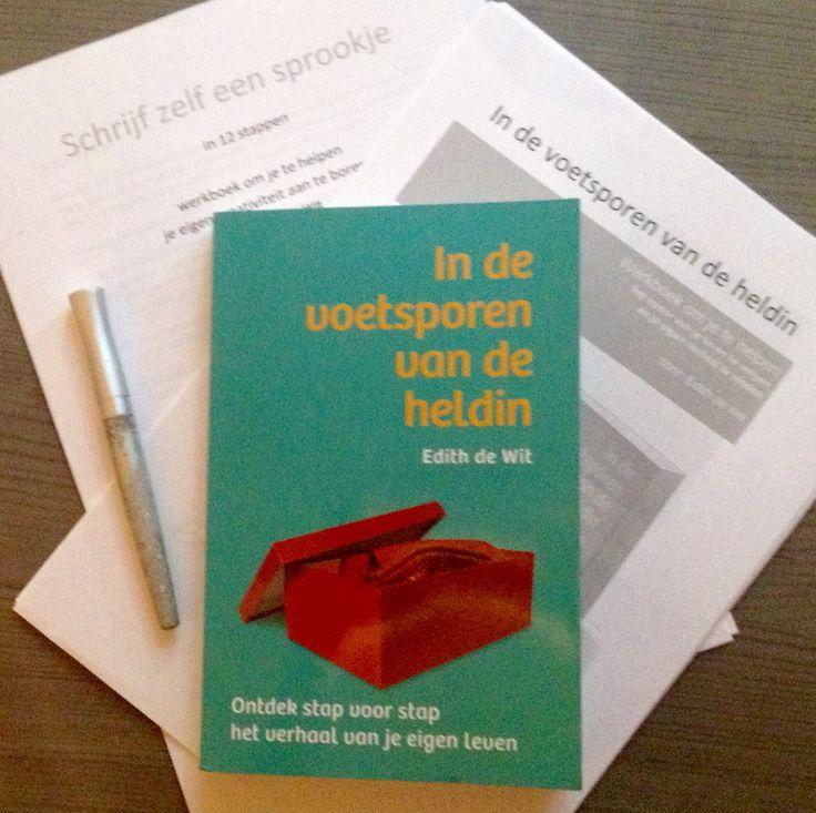 """Weer een fijn Hebban-boek ontvangen! """"Een reis door de rijke en betekenisvolle wereld van verhalen, waarbij je zult ontdekken dat het verhaal van de heldin ook over jou gaat."""" Een bijhorend werkboek én het werkboek 'schrijf zelf een sprookje' kan je op de website van de schrijfster, Edith de Wit, vinden via http://edithdewit.nl/  #hebbanbuzz"""