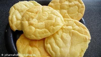Recept - Oopsies LCHF (nyttigt bröd)