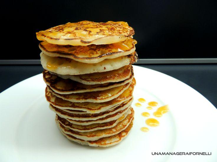 Pancakes super leggeri senza glutine