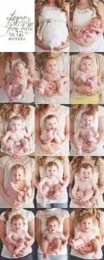 Ideas para fotos: Collage de bebés de 1 a 12 meses | Blog de BabyCenter