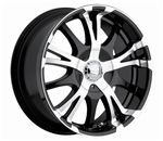 20 inch panther rims black and chrome | Panther Rim Shop - Panther Chrome Rims, Custom Wheels, Realm Rims ...
