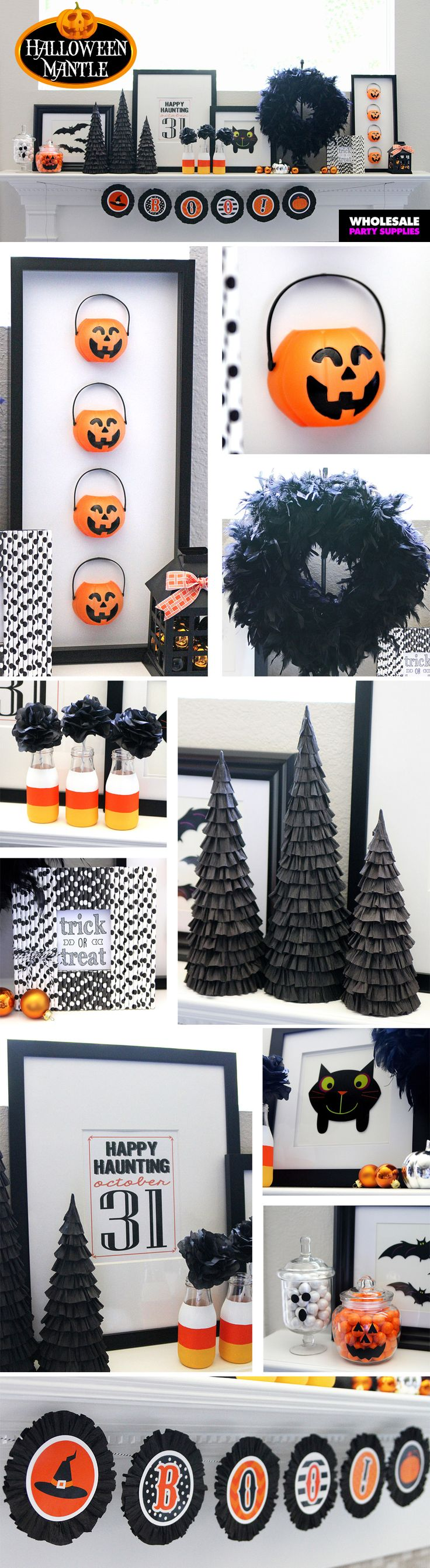 1219 best Halloween Decor images on Pinterest