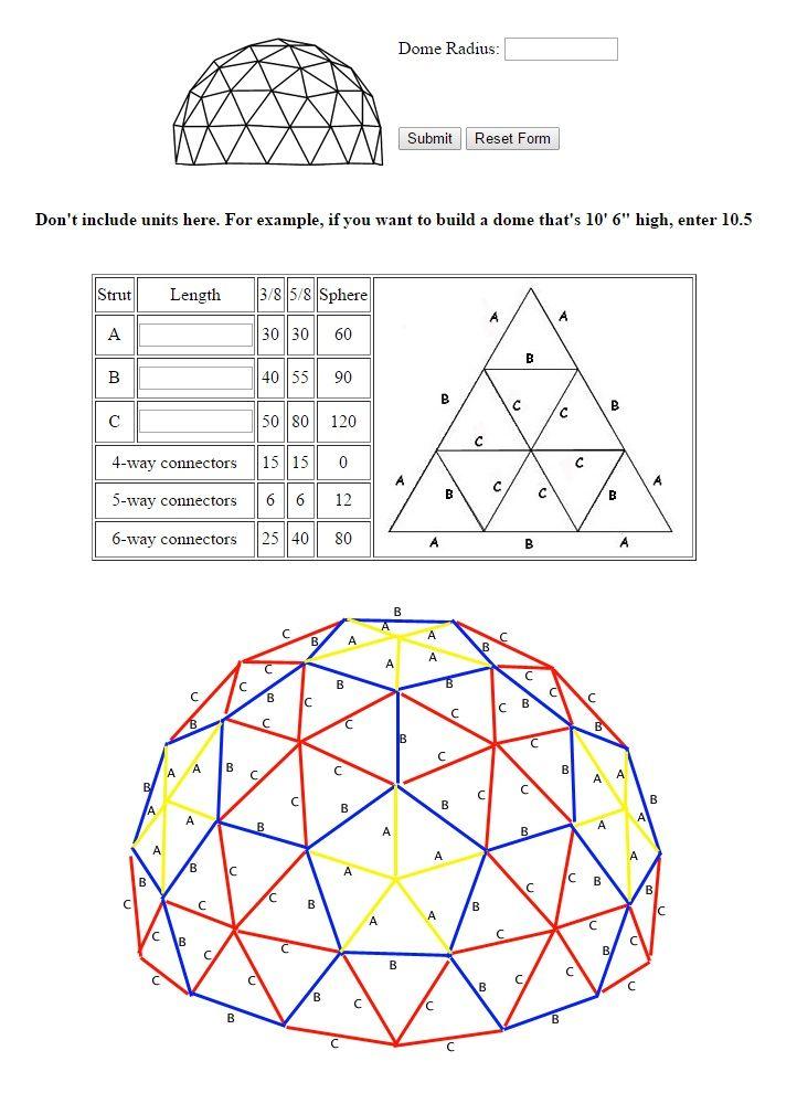 Resultado de imagen para como construir domos geodesicos