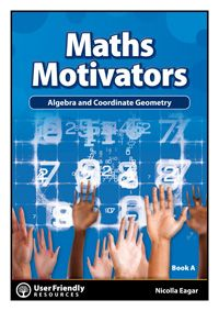 Maths teacher Nicolla Eager's Maths Motivators offers great opportunities for collaborative and student-centred learning. Packed with innovative maths activities this series is ideal for teaching, revising and assessing core concepts in senior mathematics. Activities will complement your Maths scheme and serve to highlight areas of strengths and weaknesses – and are actually quite fun to do!