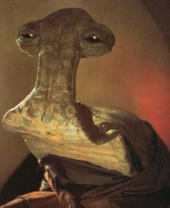 Star Wars alien character