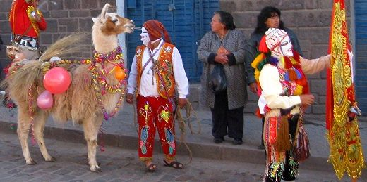 The procession of feast of Corpus Christi in Cusco, Peru http://www.gypsynester.com/cusco.htm