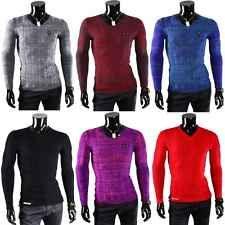 Redbridge Cipo Baxx V Neck Herren Pullover Sweatshirt Strickpullover Mens Pulli