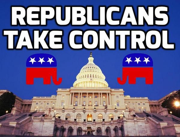BREAKING: FoxNews projects GOP takes control of U.S. Senate - Because of my aggressive, advanced Multiple Sclerosis, I sadly was unable to vote. (Constant Spasticity - Leg Spasms akin to Restless Leg Syndrome, that have made me constantly pass out. ) Therefore, I find this picture to be a thing of beauty. Of course, my pride is a tad  pricked it had nothing to do with it. Just sayin'...