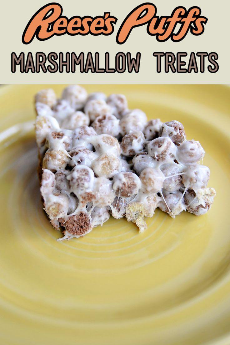 Reese's Puffs Marshmallow Treats #UpYourBreakfastGame #CG