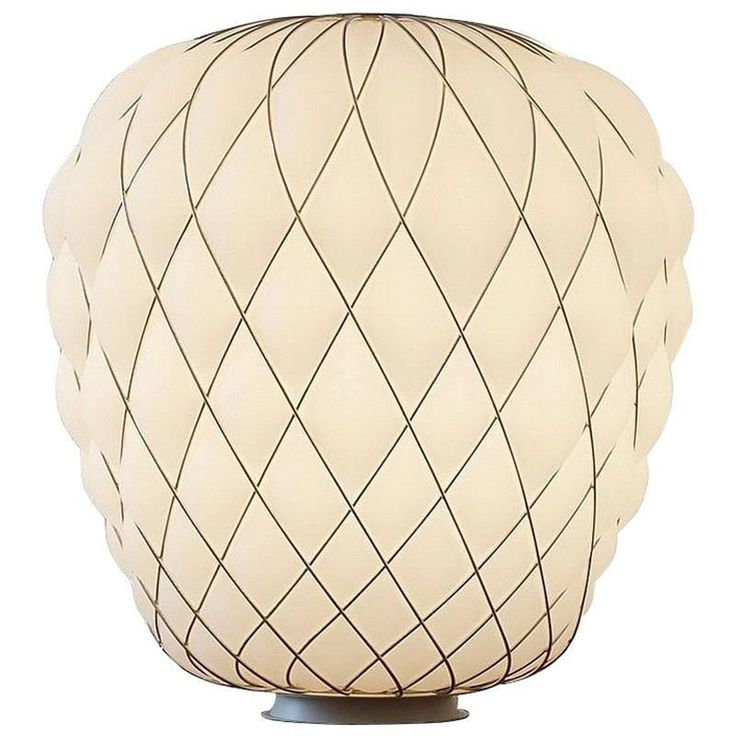 'Pinecone' Large Table Lamp Designed by Paola Navone for Fontana Arte | 1stdibs.com