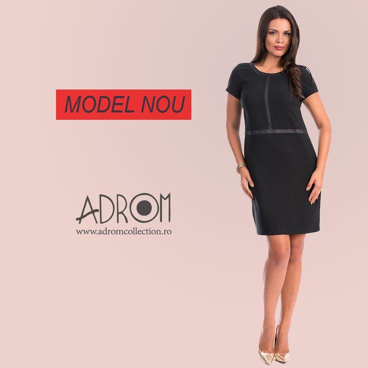 La Adrom Collection a sosit un nou model de rochie, ideal pentru sezonul de toamnă pentru care îți pregătești magazinul. Comandă en-gros: http://www.adromcollection.ro/786-rochie-angro-r673.html