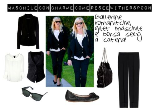 Idee look, maschile con charme come Resee Witherspoon
