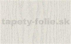 Samolepiace tapety biele drevo - renovácia dverí - 90 cm x 210 cm