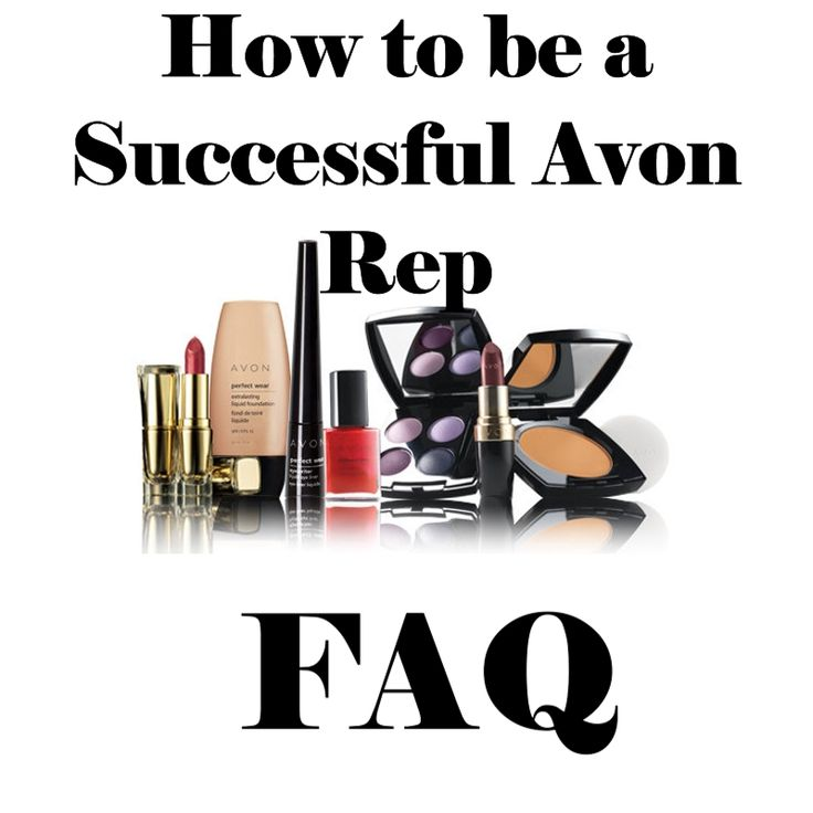 Frequently Asked Questions for new Avon Sales Reps, learn how to be a successful Avon Rep! www.youravon.com/bevfisher