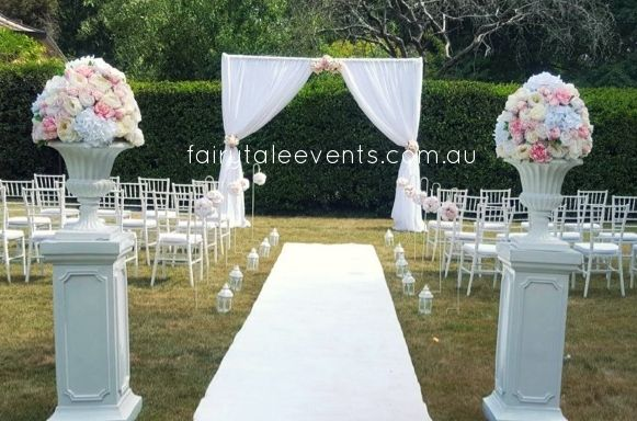 Outdoor Ceremony Private Estate by Fairytale Events