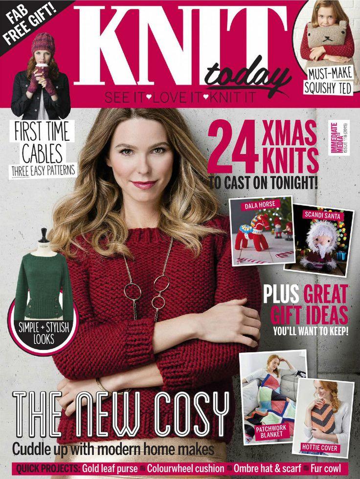 Knit Today Issue 119 2015 - 轻描淡写 - 轻描淡写