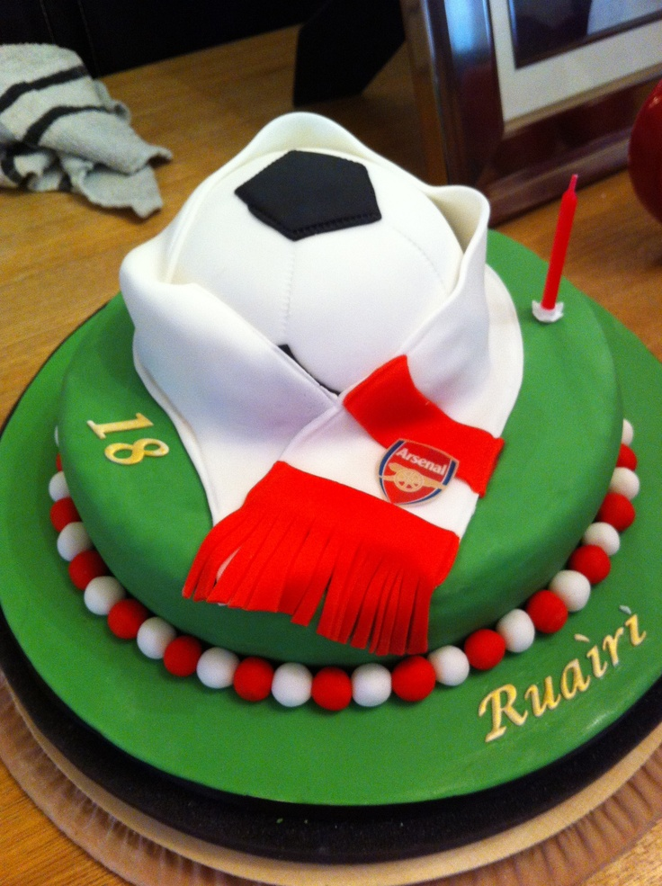 1000 Images About Arsenal Cakes On Pinterest Arsenal Fc