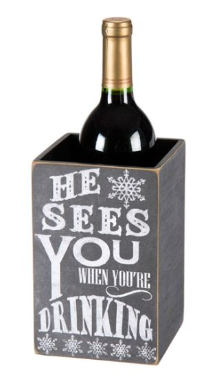Primitive 'Sees You' Wine Bottle Box http://rstyle.me/n/tt9anbh9c7