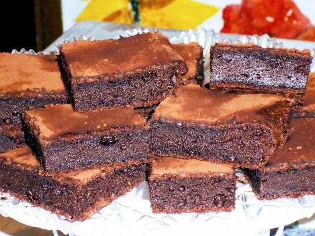 Raccontare un paese: dalla mia cucina toscana: quadrotti al cioccolato