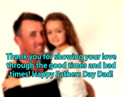Happy Fathers Day Messages from Daughter...