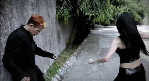 Martial arts: Janice Hung. (x)