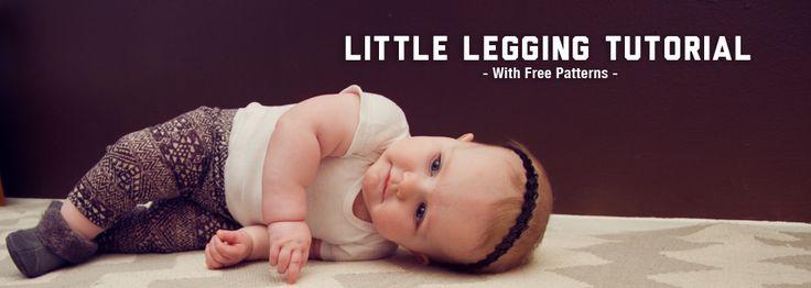 Little+Leggings+Tutorial+with+Free+Pattern!