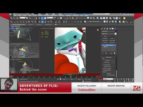 #13. Flig vs Candyeti: Animations in 3ds max #twitch #indie #indiedev #gamedev #aoflig #fligadventures #adventuresofflig #flig