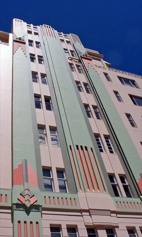 One of the oldest and most impressive examples of the Art Deco movement, right here at home - Surrey Mansions Durban