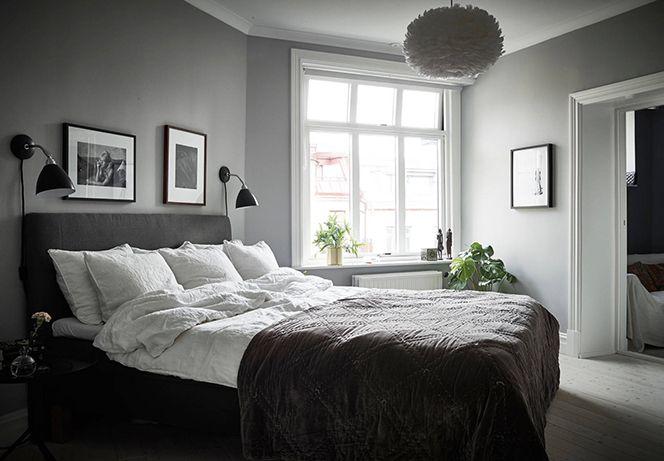 Come decorare la parete della camera da letto   cerca con google ...