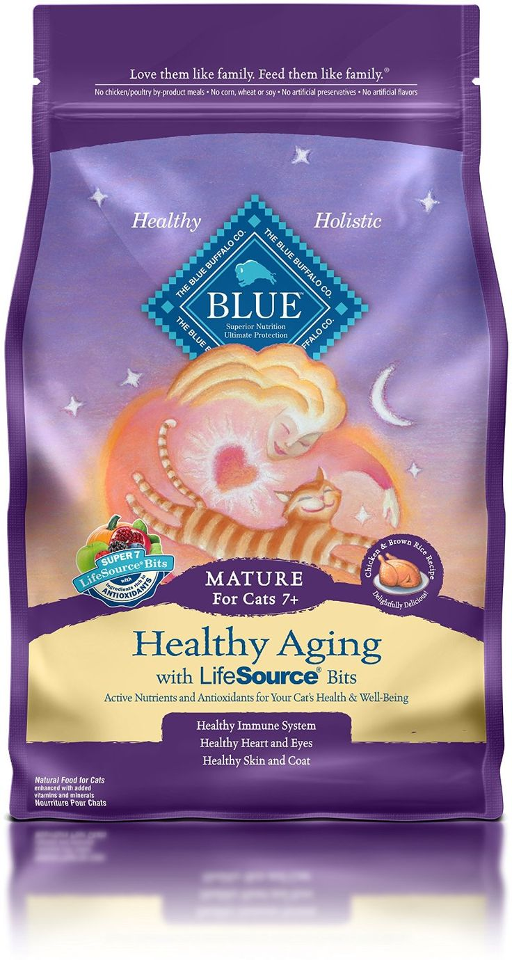 Blue Buffalo Life Protection Dry Senior Cat Food => Hurry! Check out this great product : Cat food