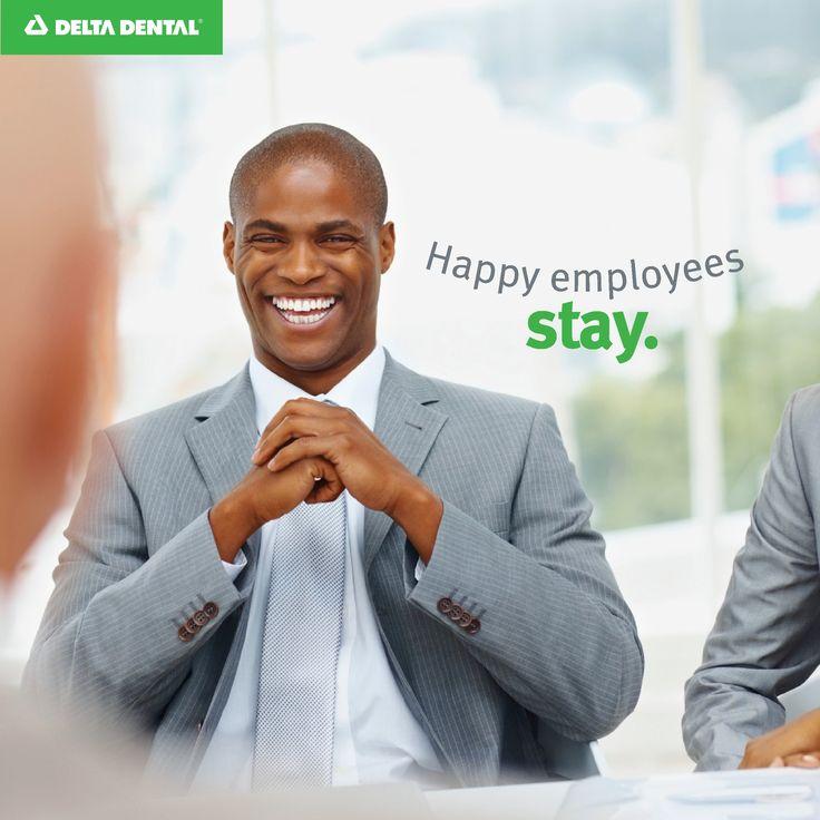 Happy employees tend to stick around when