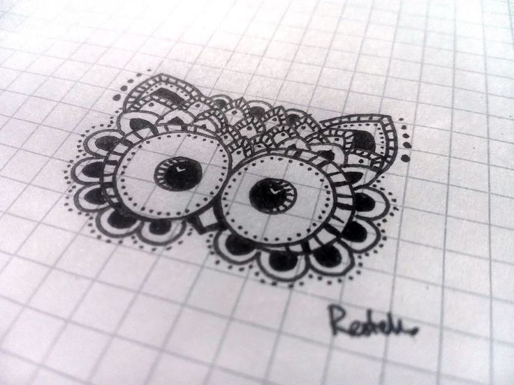Foto: I'm alive!!! Little cute owl <3 draw by me