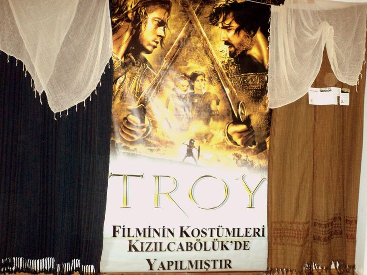 Wool and cotton costumes have been produced in Kizilcaboluk, Denizli for the Troy movie.