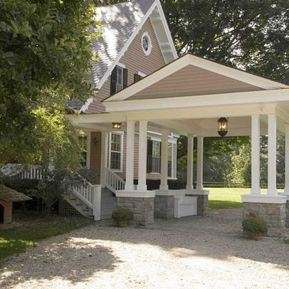 1000 ideas about porte cochere on pinterest southern for House plans with drive through garage