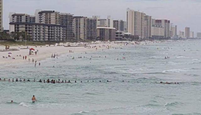 Corrente humana com 80 pessoas salva uma família inteira de afogamento em praia http://ift.tt/2v09Gzh