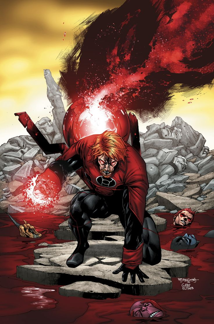 RED LANTERNS #34 Written by CHARLES SOULE Art by ALESSANDRO VITTI Cover by STEPHEN SEGOVIA