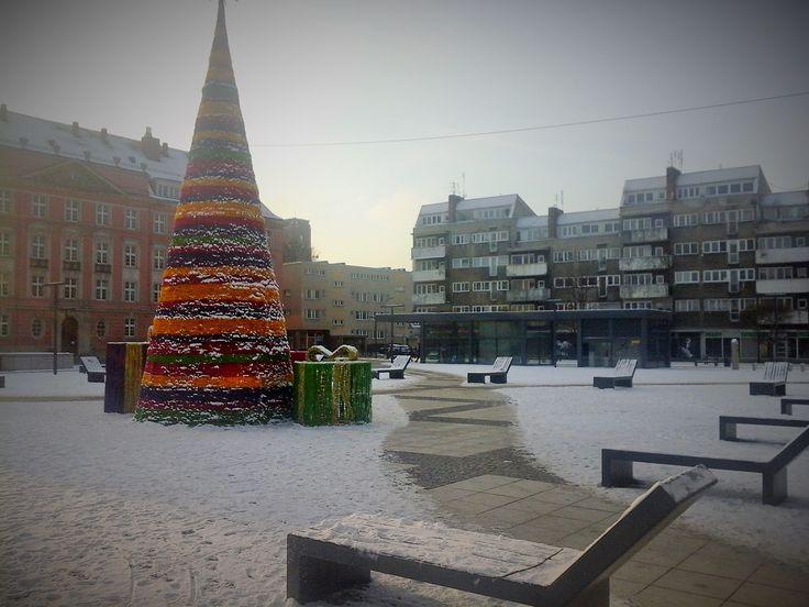 Inverno a Wrocław - Plac Nowy Targ
