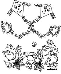 malvorlage herbst - ausmalbilder für kinder | ausmalbilder, drachen malen und ausmalen