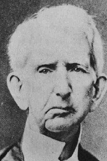 A rare photograph of William Seward showing his scarred face after the attack by Lewis Powell