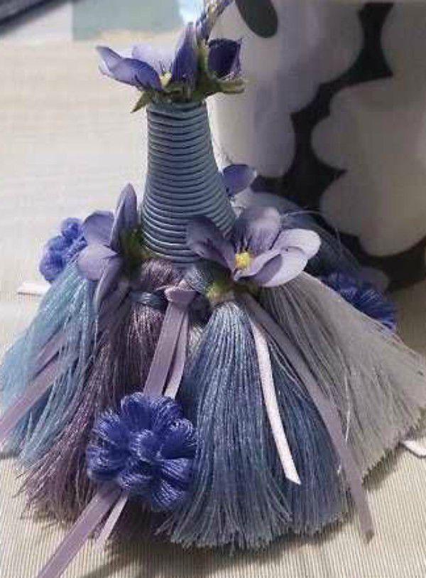 Эффектный элемент декора: кисти и кисточки - Ярмарка Мастеров - ручная работа, handmade