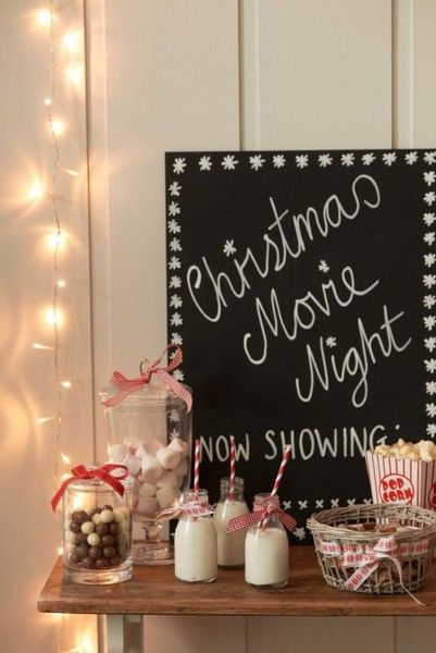 Start a family movie night - Holiday Traditions to Start with Your Own Family  - Photos