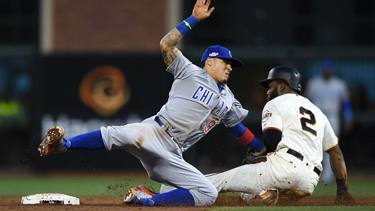 Cubs-Giants NLDS: Javier Baez shows off how ridiculous he is in the field