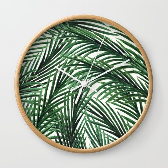 Palm leaves, summer