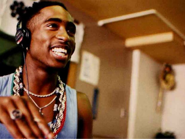 Tupac, an #MCing legend. #Jamming #summerofdoing