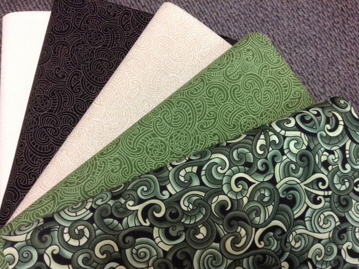 NZ themed 100% cotton quilting fabric. Maori designs.