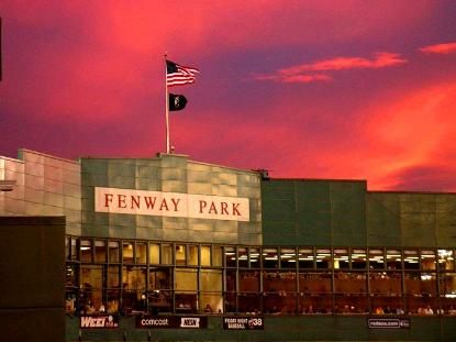 Someday.... Someday I'm goin to Fenway.