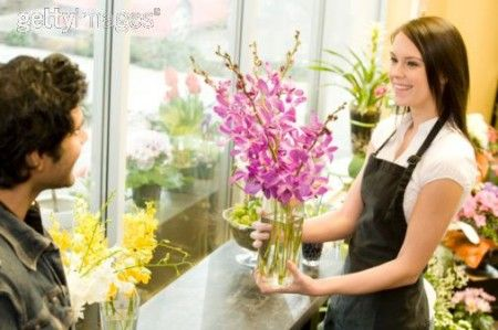 A florist would be a lovely job idea you would be working with the wonderful scent of flower