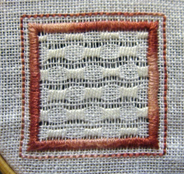 Whitework Embroidery: 4/15 Sided Biscornu - Free Patterns