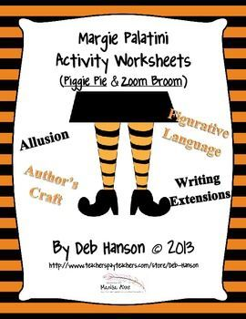 The 47 best margie palatini author of many funny award winning piggie pie and zoom broom worksheets fandeluxe Image collections