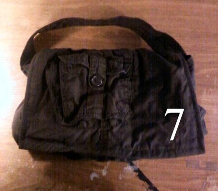 Covered In Artigianato: pantaloni superato? Facciamo una borsa! Cucire lungo